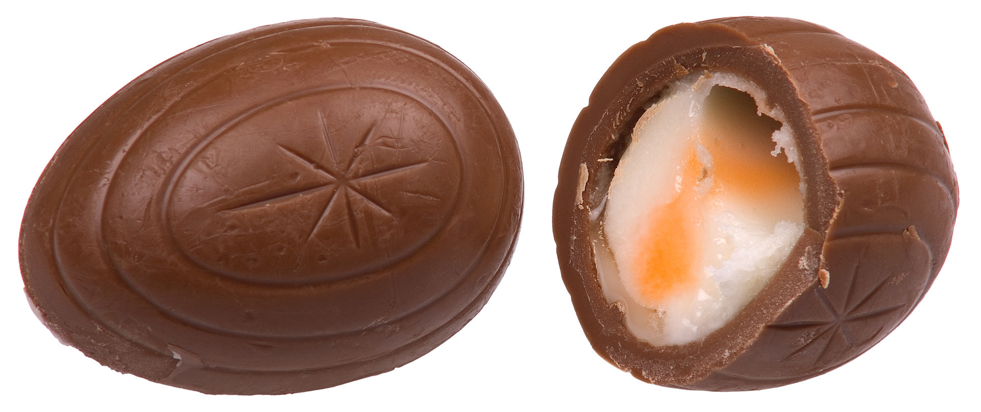 inside an easter egg