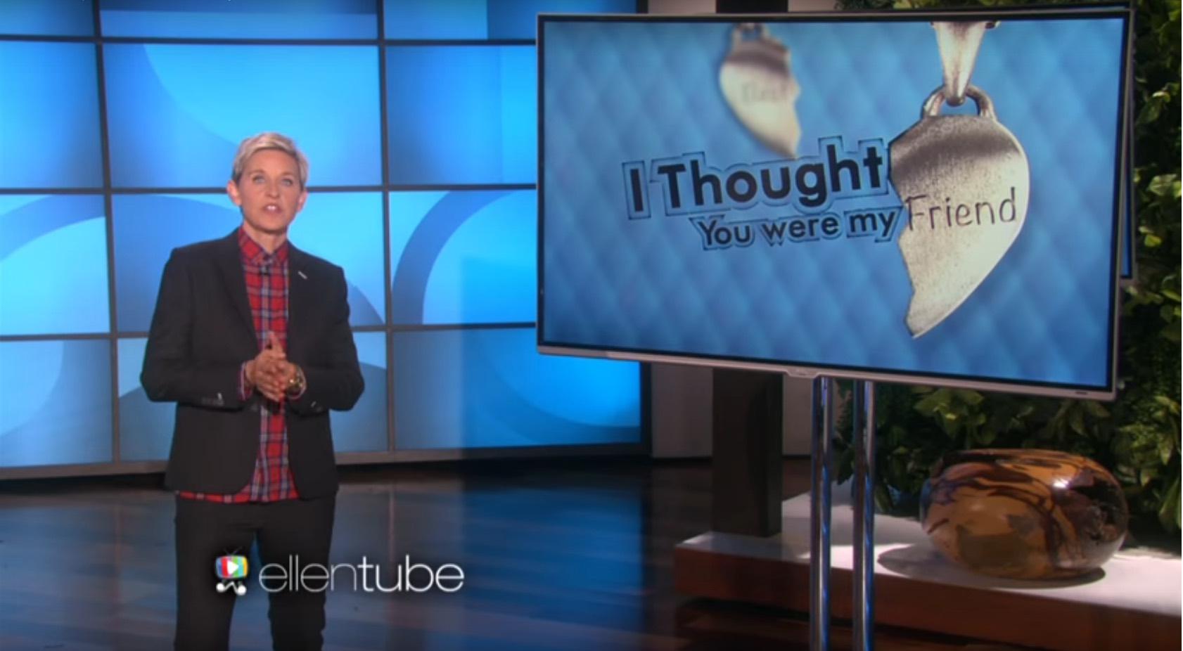 Ellen DeGeneres comedy