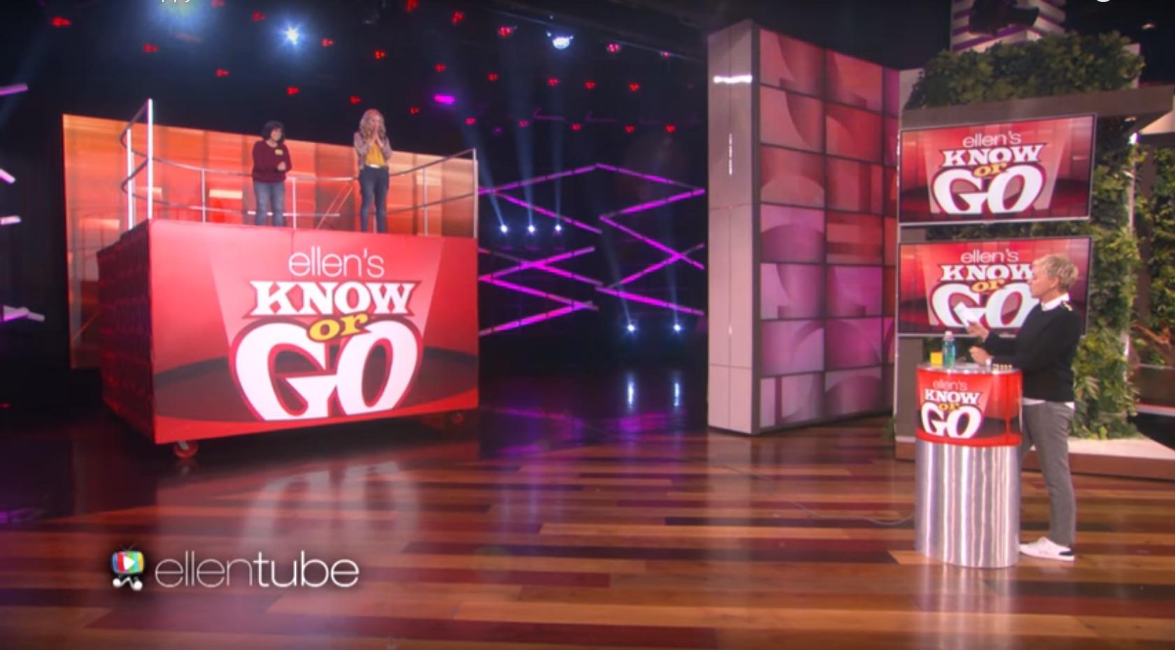 Ellen DeGeneres Know or Go