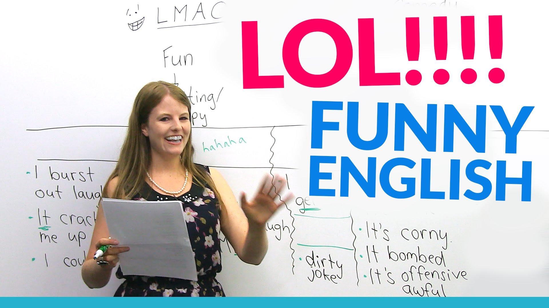 improve English speaking with hilarious jokes!