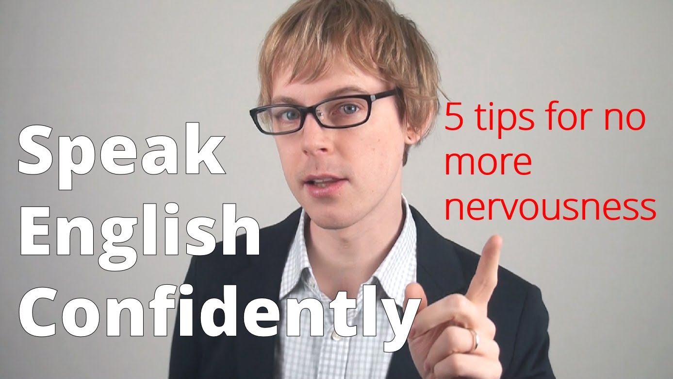 improve English speaking by gaining confidence