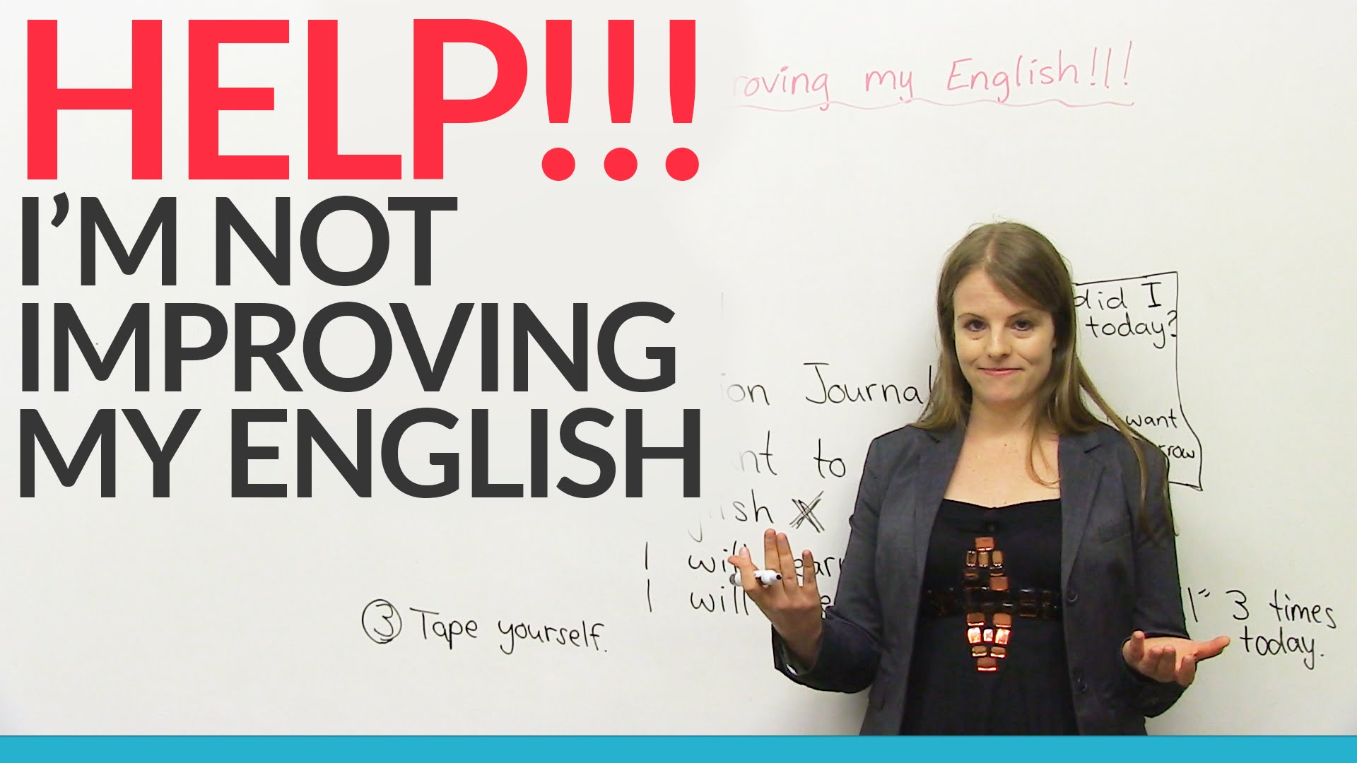 how to keep improving english grammar mistakes