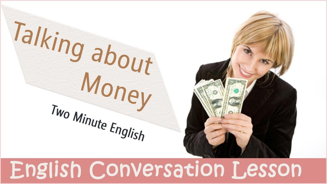 Разговорные фразы про деньги на Английском