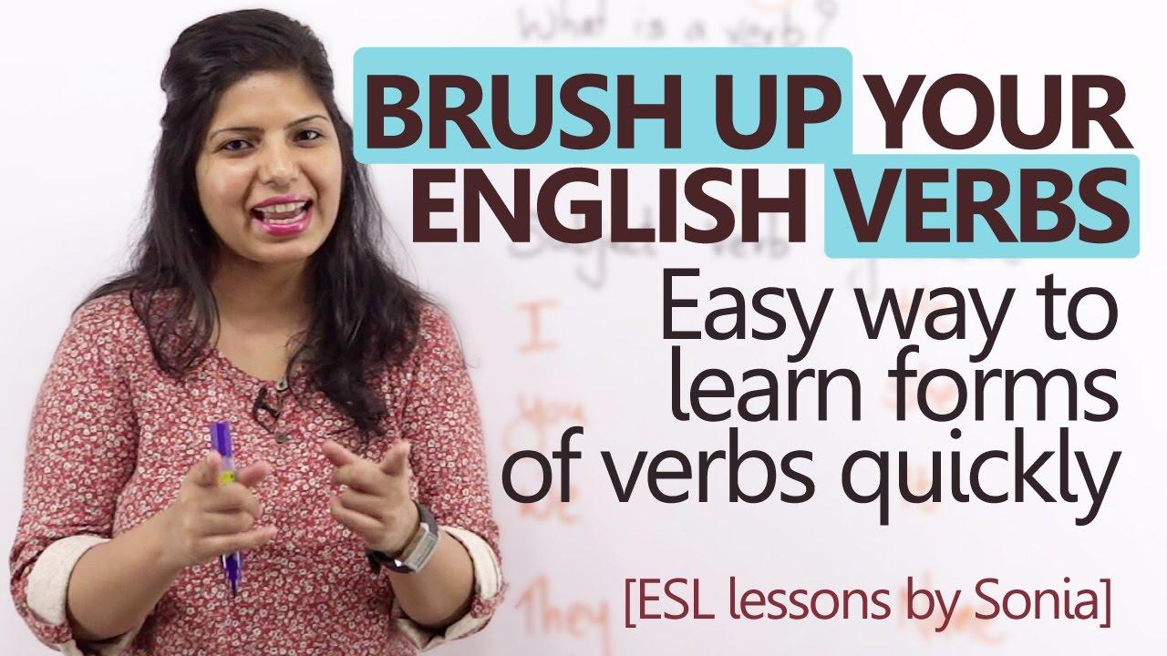 Большинство ошибок встречается в глаголах