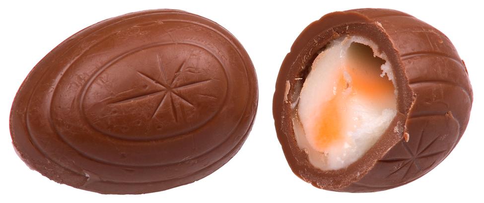 Внутри пасхального яйца
