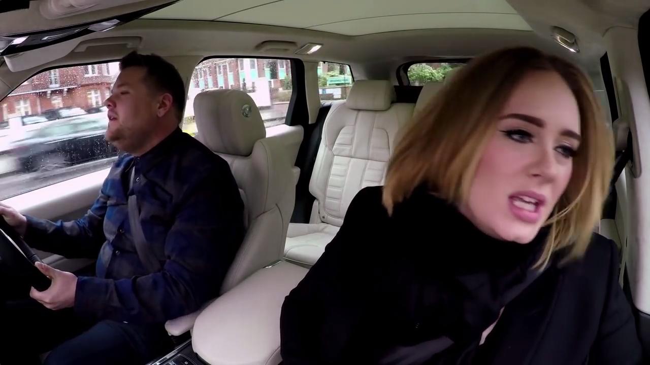 Accents anglais - Adele et James Corden