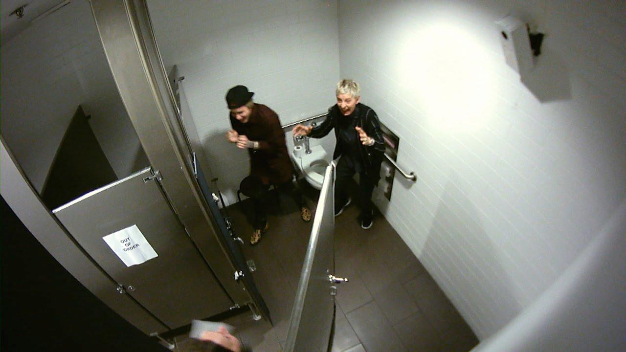 Ellen DeGeneris, Justin Bieber