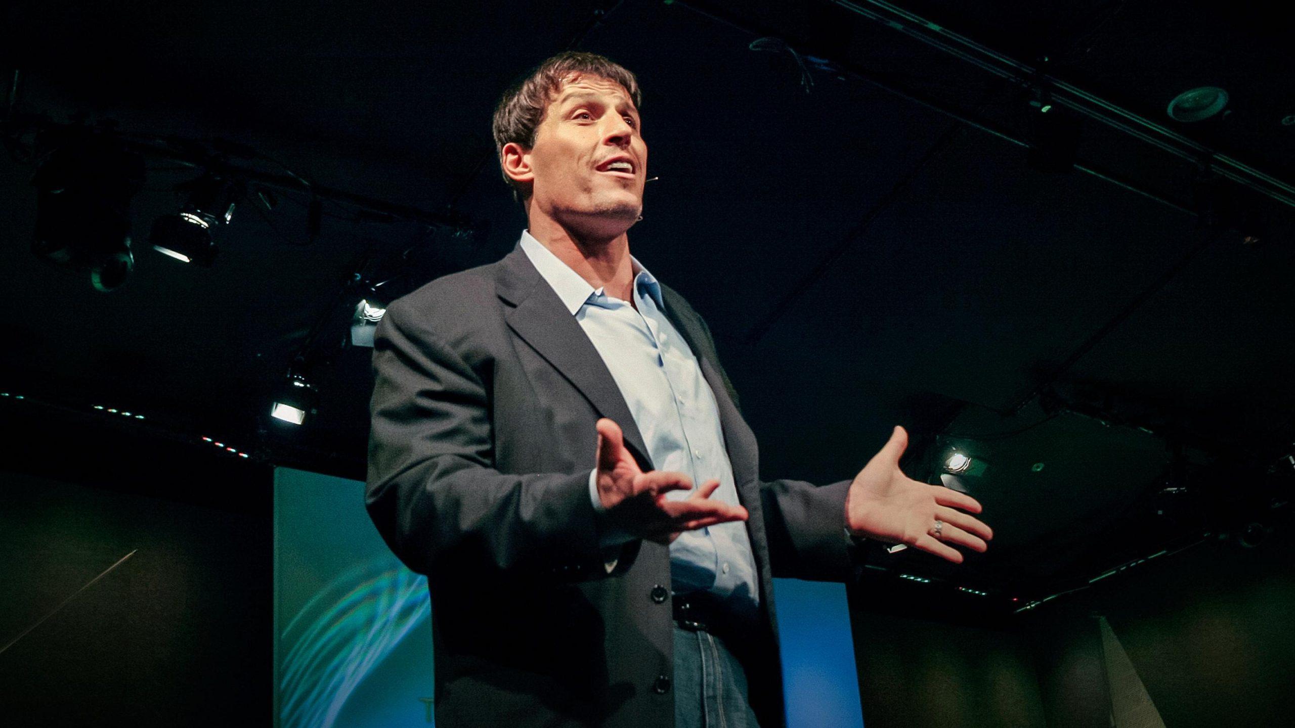 Tony Robbins ted talk