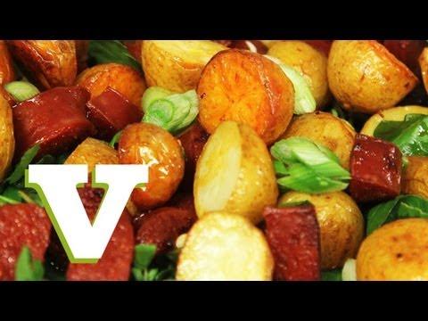 recetas deliciosas papas y chorizos