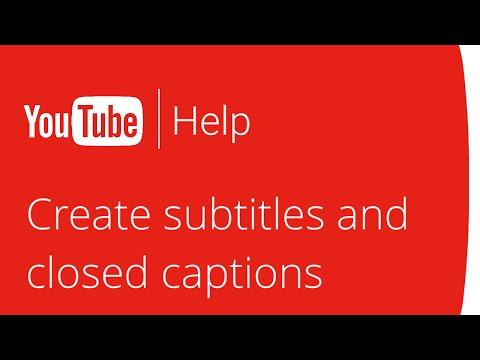 subtítulos - creando