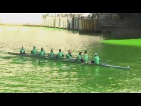 río verde: día de san Patricio