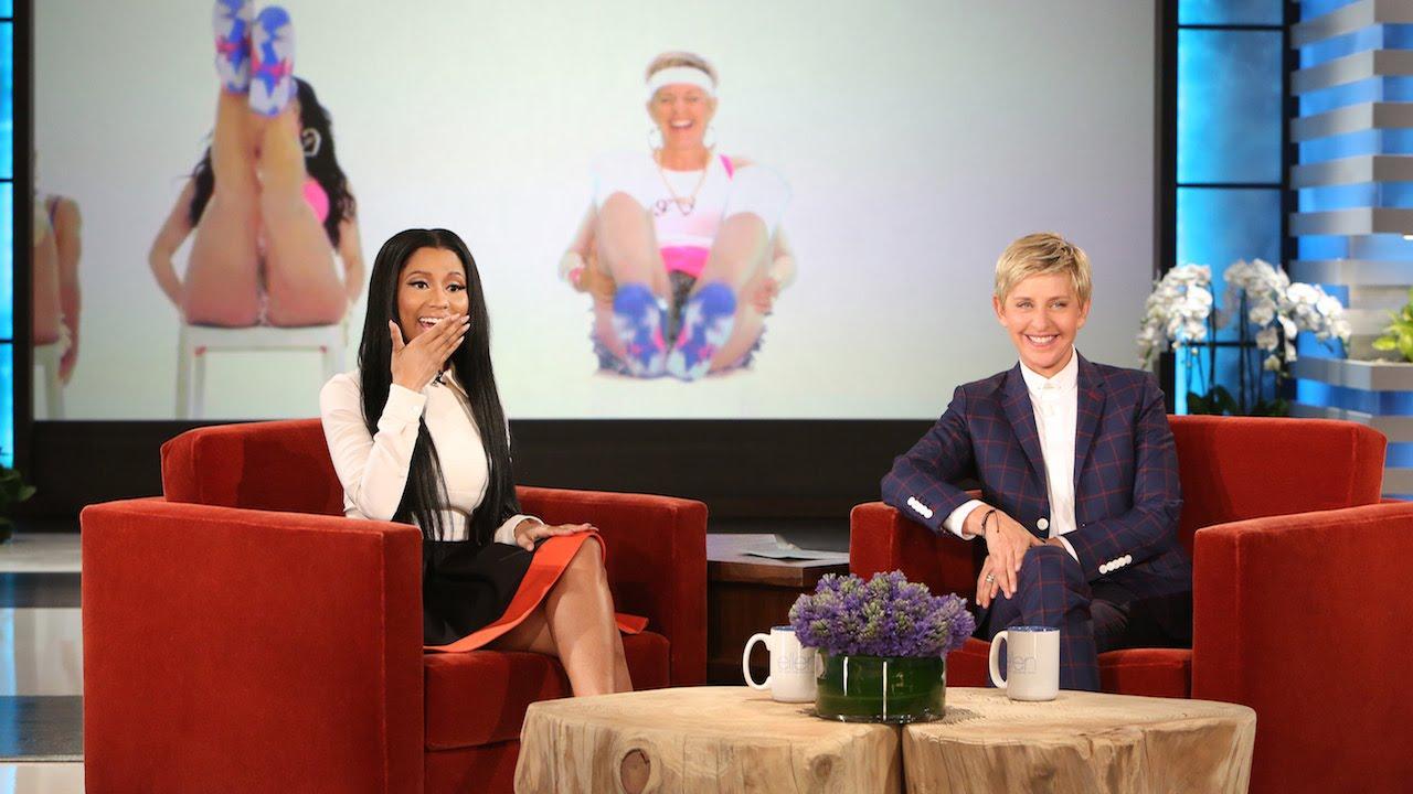 Ellen Degeneres y Nicki
