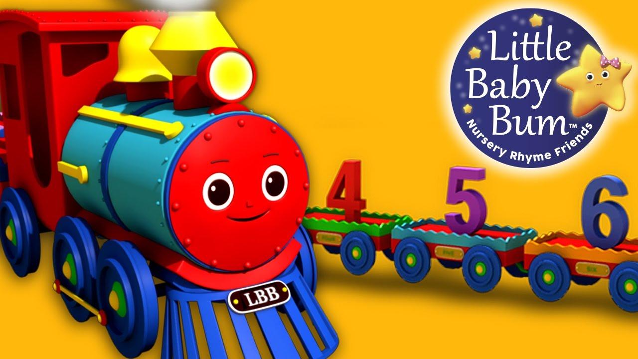 el tren en la programación en inglés para niños