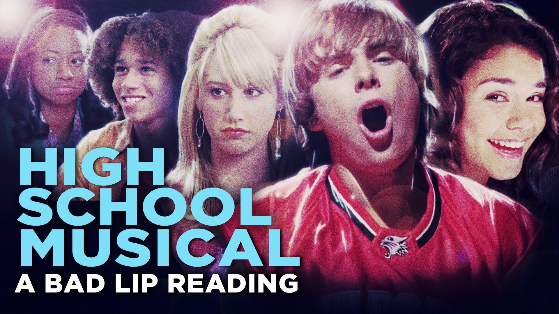 High School Musical y videos de comedia en inglés